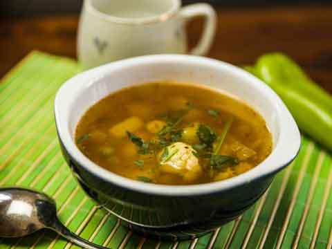 Hoe warm je soep op?